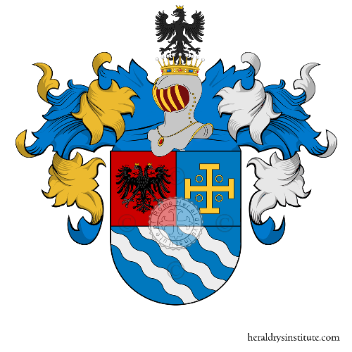 Coat of arms of family Alves