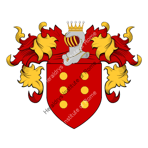 Coat of arms of family Almeida