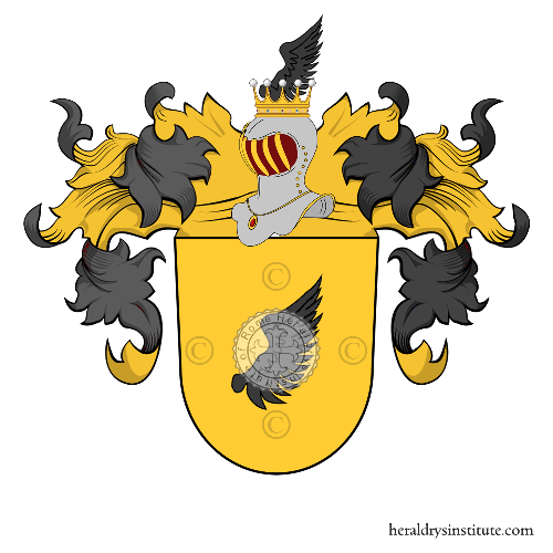 Coat of arms of family Fluck