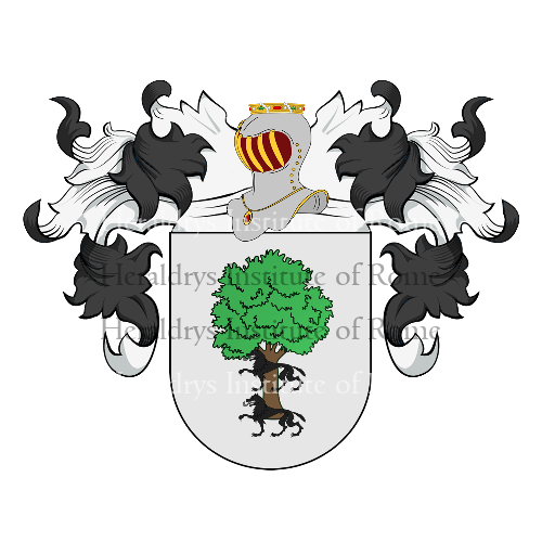 Coat of arms of family Astudillo