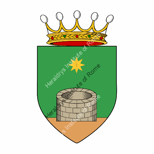 Coat of arms of family Ratta ref: 25603
