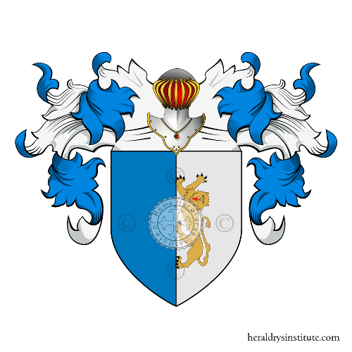 Coat of arms of family Curatolo