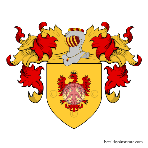 Coat of Arms of family Bornico