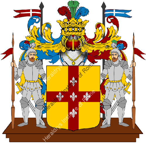 Coat of Arms of family Alagna