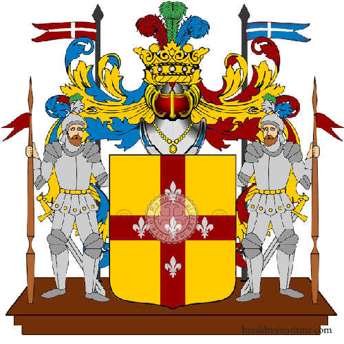 Coat of Arms of family Sapanti