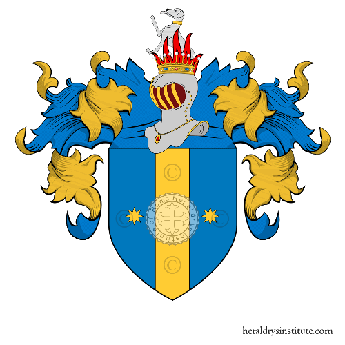 Coat of arms of family Peracchio