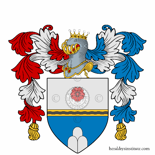 Coat of arms of family Sasso
