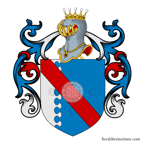 Coat of arms of family Canella