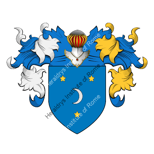 Coat of Arms of family Pareni