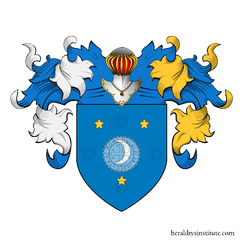Coat of Arms of family Uomo