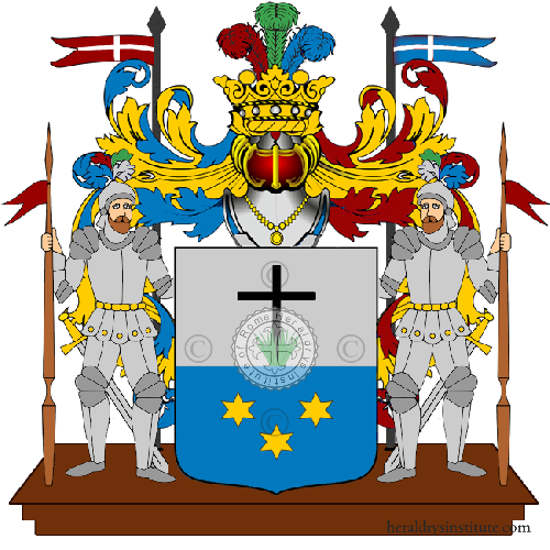 Coat of Arms of family Minato