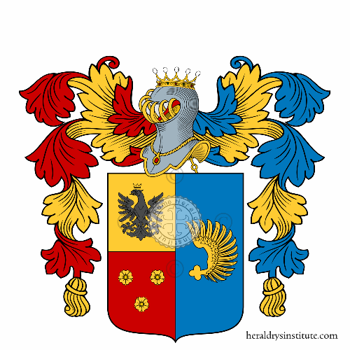 Coat of arms of family Saracchi