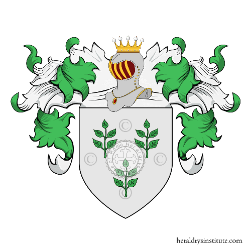 Coat of arms of family Fresnaye