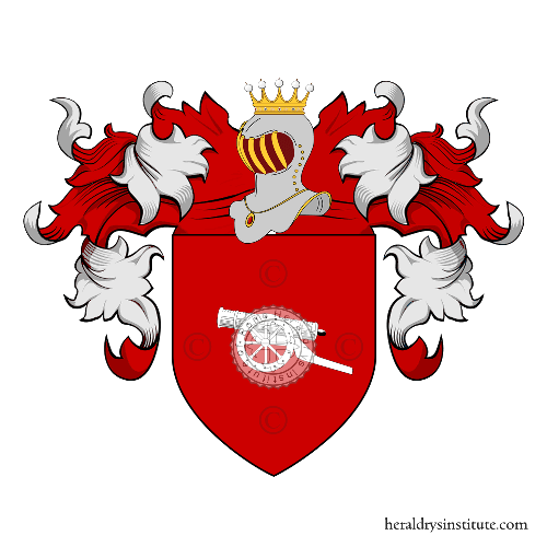 Coat of arms of family Missaglia