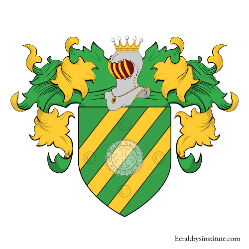 Coat of arms of family Bianzardi