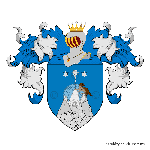 Coat of arms of family Moscardini