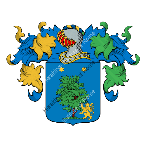 Coat of arms of family Giovagnoli