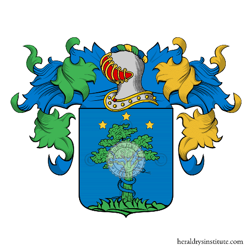 Coat of arms of family Trivisola