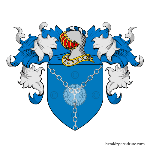 Coat of arms of family Alberighi