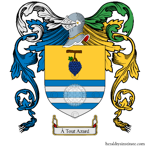 Coat of arms of family Ughetto