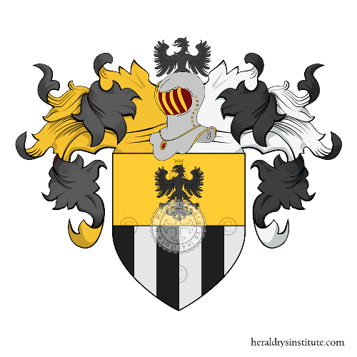 Coat of Arms of family Poparella