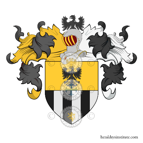 Coat of Arms of family Portapia
