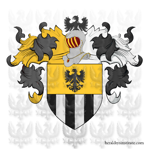 Coat of Arms of family Pozzessere