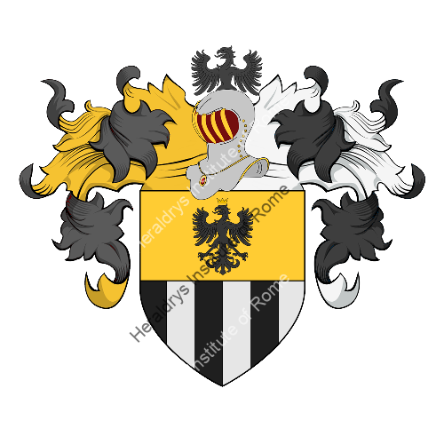 Coat of arms of family Pozzebona