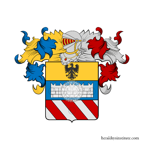 Coat of Arms of family Paulinelli