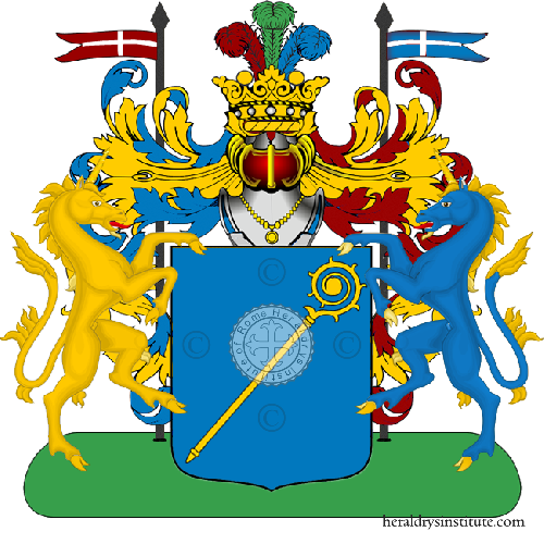 Coat of Arms of family Nennisi