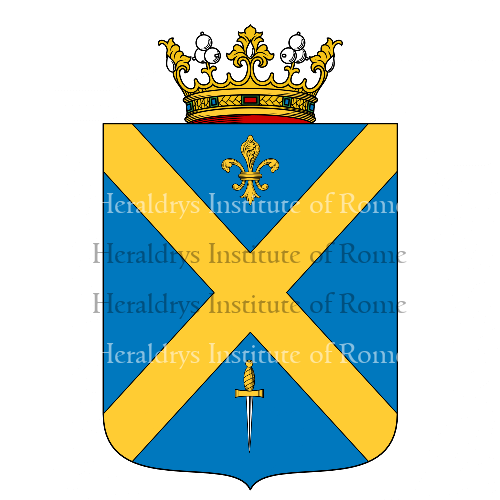 Coat of Arms of family Pandrea