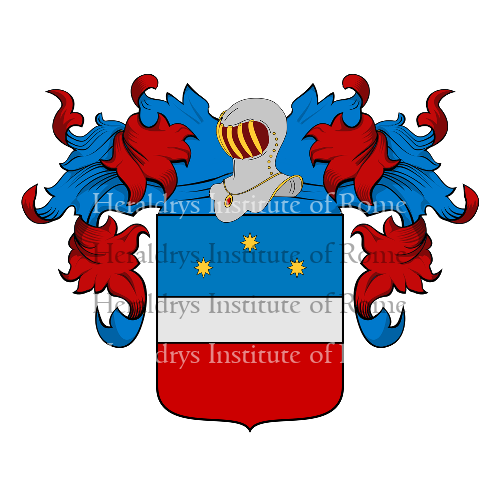 Coat of Arms of family Perozzo
