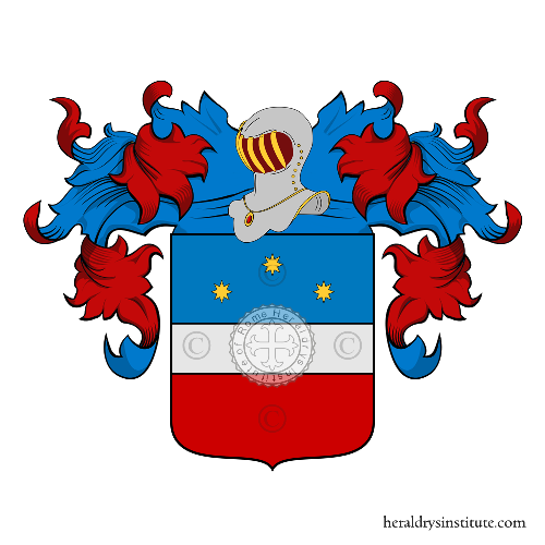Coat of Arms of family Prella