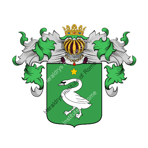 Coat of Arms of family Imbrogno