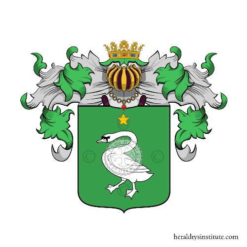 Coat of Arms of family Ticoni
