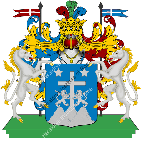 Coat of Arms of family Pesarona