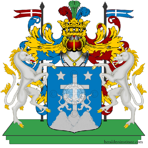 Coat of Arms of family Pescerelli
