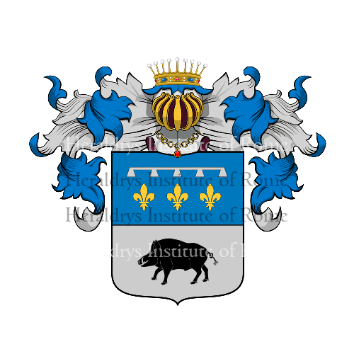 Coat of Arms of family Coloni