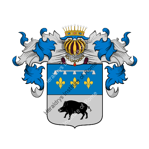 Coat of Arms of family Tubello