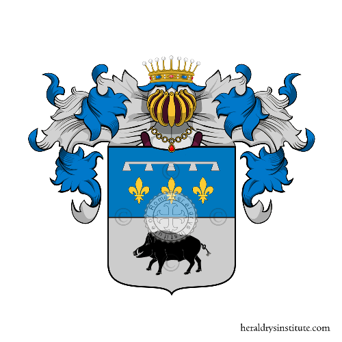 Coat of arms of family Eolo