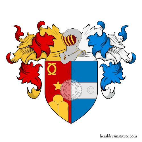 Coat of Arms of family Petrisano