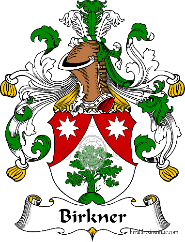 Coat of arms of family Birkner