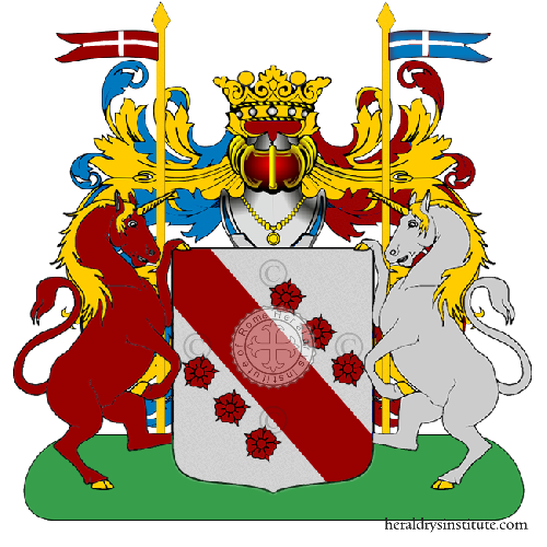 Coat of Arms of family Pezzola