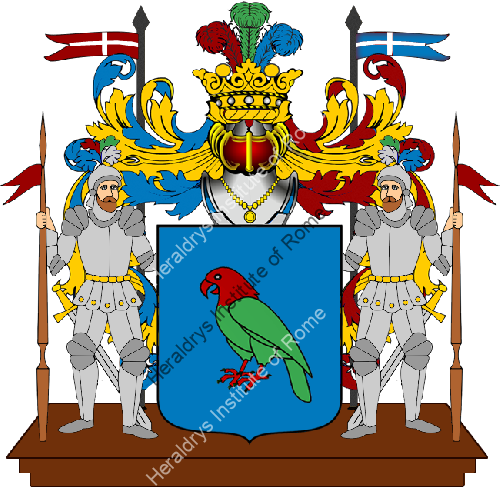 Coat of Arms of family Paparotto