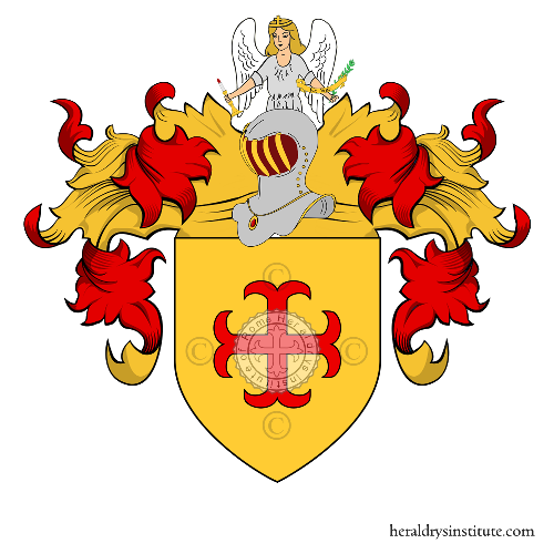 Coat of Arms of family Papilli