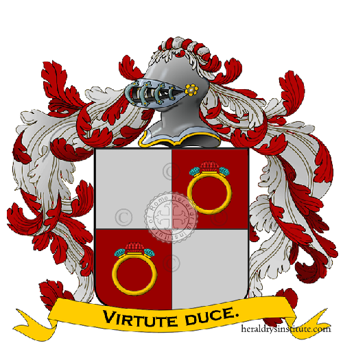 Coat of Arms of family Duanelli