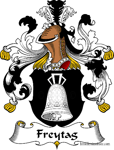 Coat of arms of family Freytag - ref:30513
