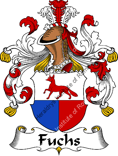 Coat of arms of family Fuchs - ref:30529