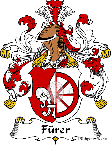 Coat of arms of family Fürer - ref:30537