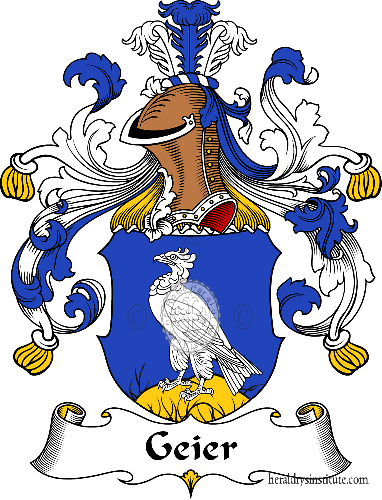 Coat of arms of family Geier - ref:30561